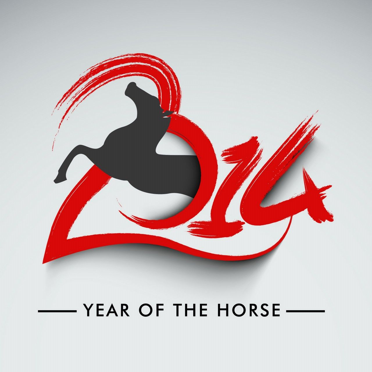 Year Of The Horse Chinese Symbol Year Of The Horse Pinterest