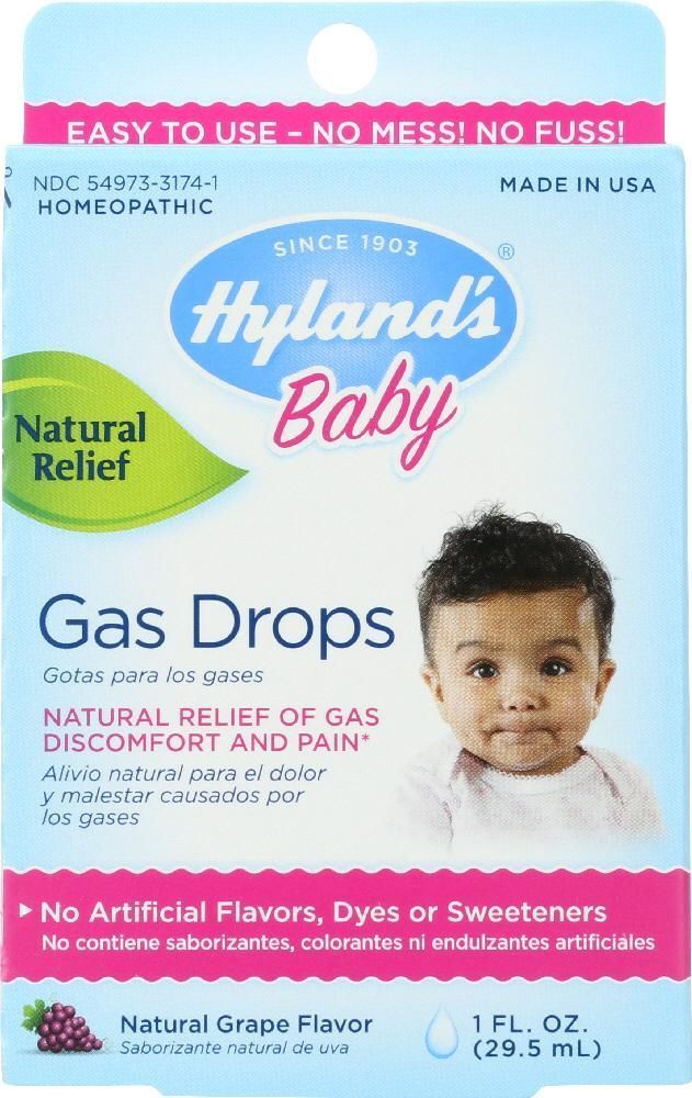 HYLAND'S: Baby Gas Drops Natural Relief, 1 Unze #baby #Drops #gas #Hylands #natu...