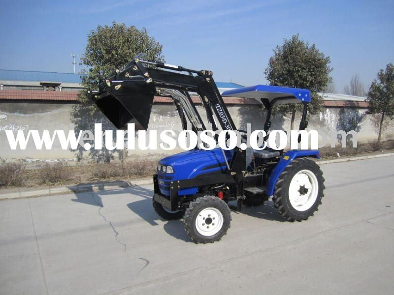 mini garden tractor 4in1 loader, LZ304,30HP, 4WD tractor