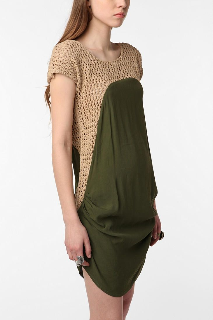 Mypetsquare green crochet dress urban outfitters google search