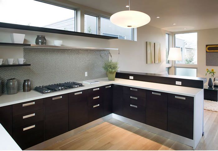 Modern Home Remodel Open Box 2 The Modern Home Modern Kitchen Open Latest Kitchen Designs Modern Kitchen
