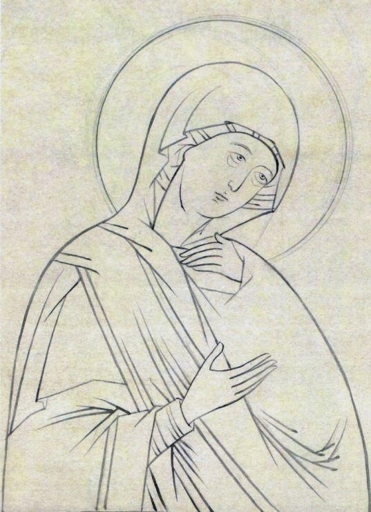 Gallery.ru / Фото #1 - Прориси Монахини Иулиании - vihrova