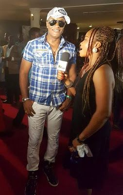 Welcome to Oghenemaga Otewu's Blog: Photos of actor Saint Obi at an event in Lagos Sta...