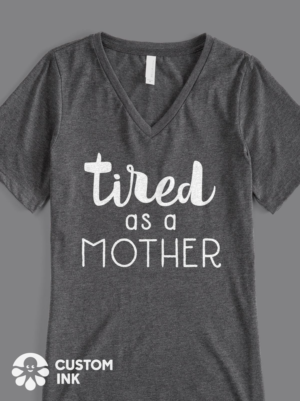 061d863e Tired as a Mother is the perfect funny saying design for your custom mom  quote shirt, t-shirt, hoodie, bag, and more. Great mom gift idea from  daughter or ...