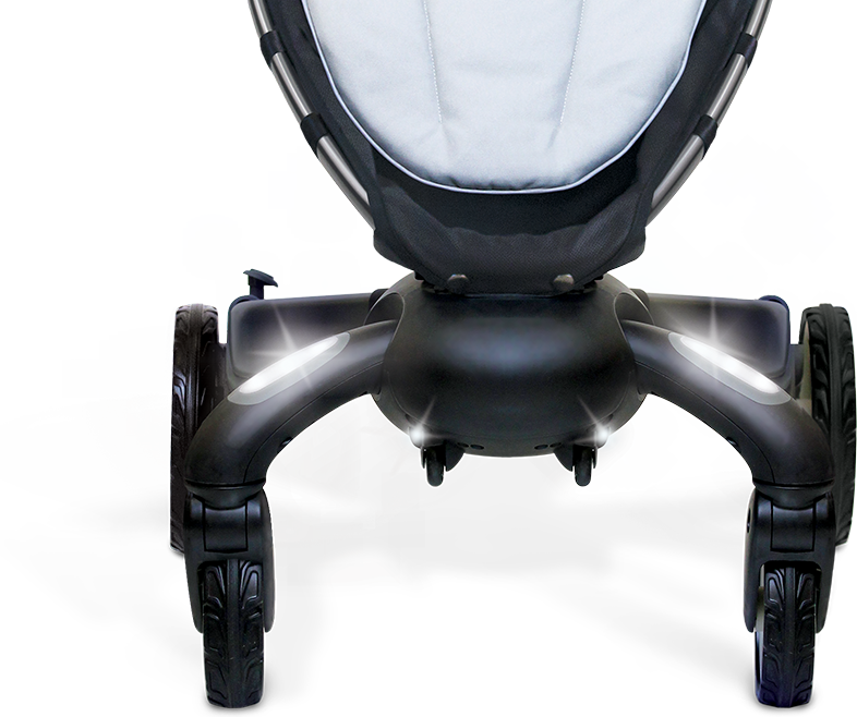 4moms Origami Stroller Review Pathway Lights Single Stroller
