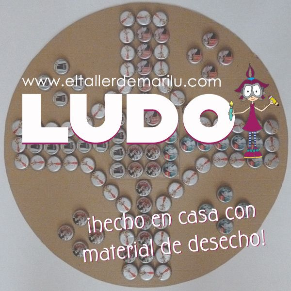 Tutorial Ludo Recycling Projects For Kids Recycling For Kids Tutorial