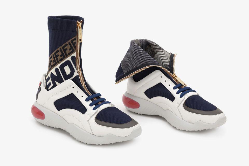 Fendi Mania  nova coleção da grife italiana vem inspirada na marca  esportiva Fila – O Cara Fashion 486398ed47c