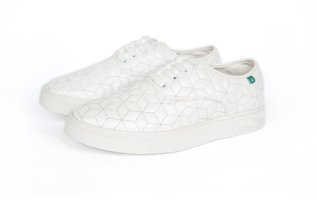 941427ec88d6d THE WHITMAN White Box Quilt - Keep Company - 1 | Shoes | Vegan shoes ...