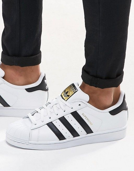 Adidas Superstar Shoes White Men Sneakers Adidas Originals C77124 ... 68ecc02a9cd