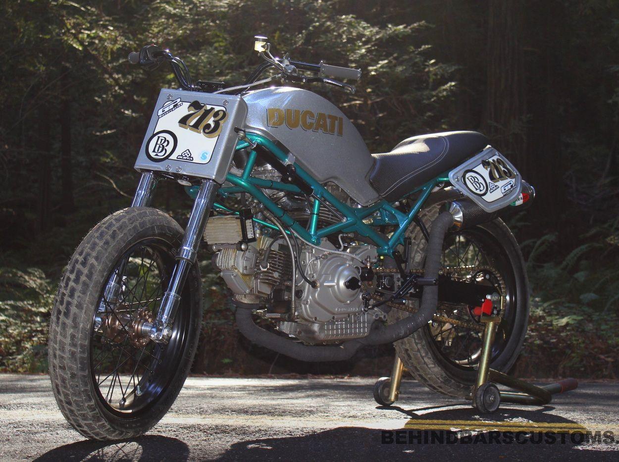 Ducati Monster Street Tracker By Behind Bars Customs Ducati Monster Ducati Street Tracker