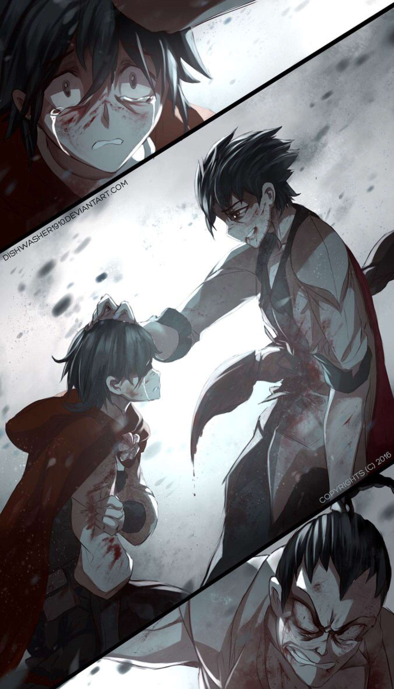 Rwby doodle light at the end by dishwasher1910 on - Rwby deviantart ...