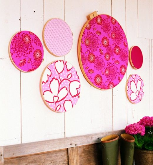 Frugal Home Décor: Embroidery Hoop Wall Art | Kids bedroom ideas ...