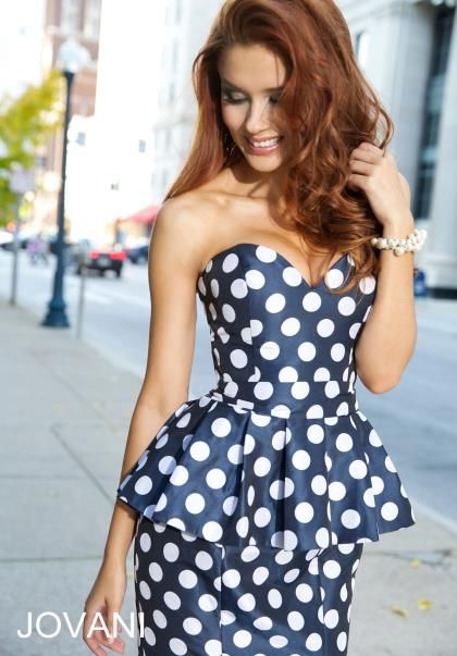 Jovani Long Peplum Dress 24885 | 2016 Jovani Dresses | Pinterest