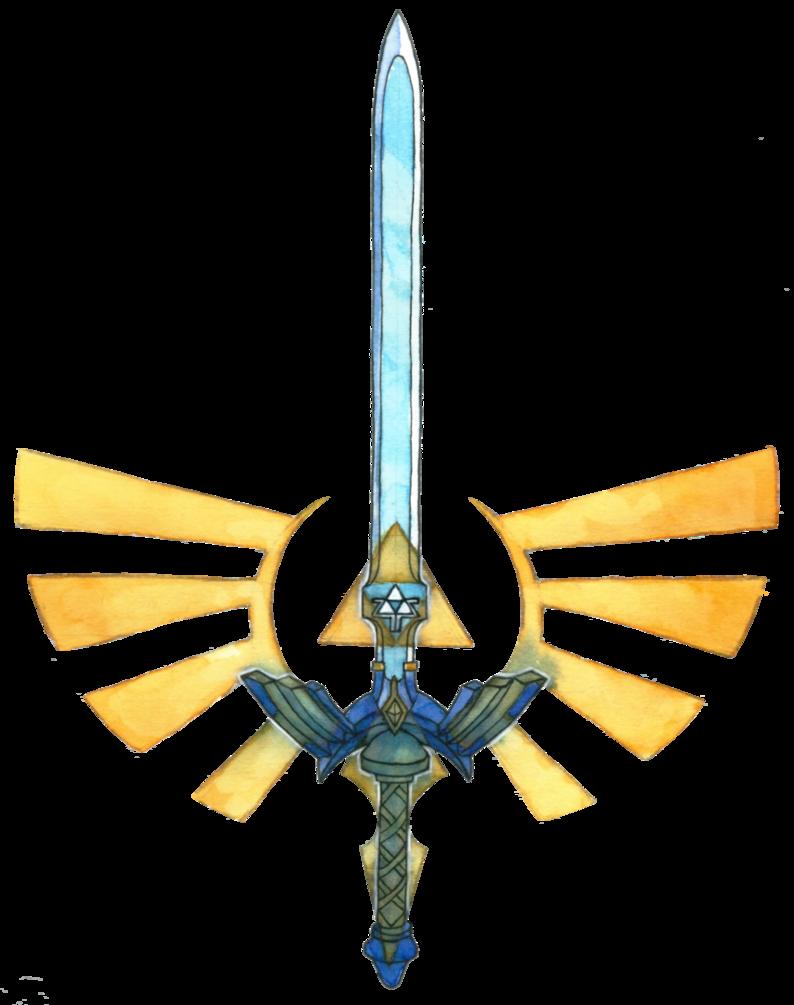 Master Sword Tattoo Design By Saskle Legend Of Zelda Tattoos