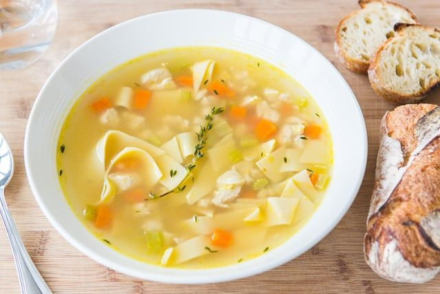 This Quick Chicken Noodle Soup Recipe Only Takes 30 Minutes To Make So You Can Have A Soup