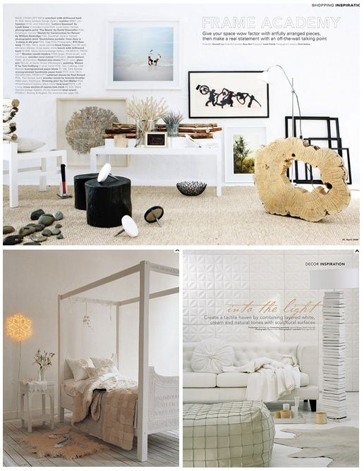 Beautiful interior styling by Genneth Lyn. I want to move right in!