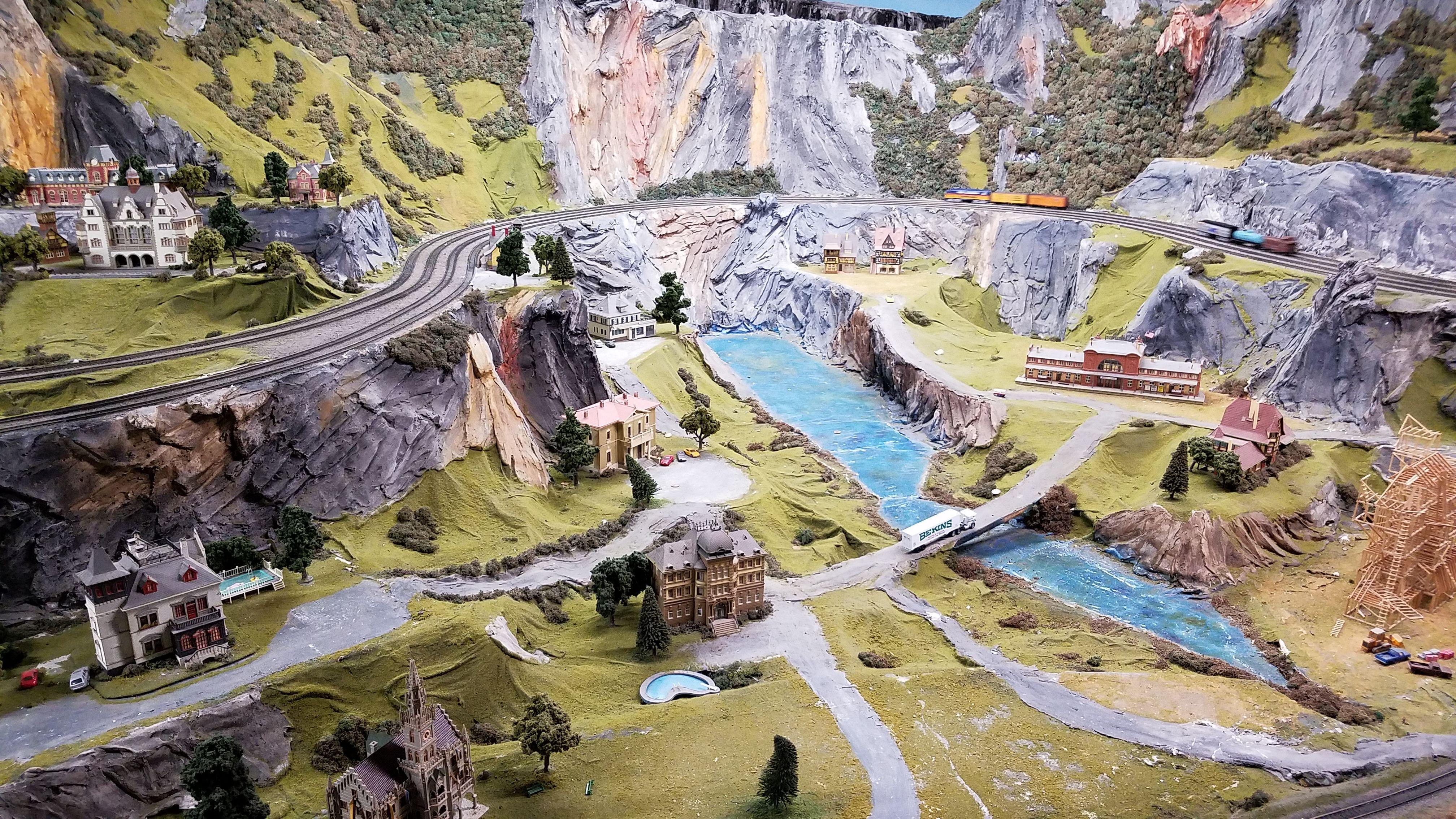 Beautiful Click Of The Northlandz Miniature Wonderland Scene Book Your Trip Now Www Northlandz Com Tickets Northlandz Miniature Weekend Trips Z Trip Trip