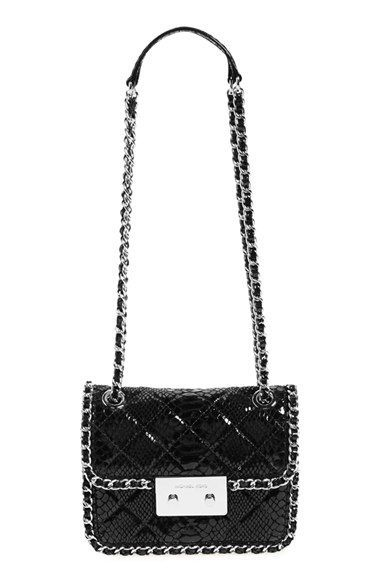 MICHAEL Michael Kors 'Medium Carine' Quilted Leather Shoulder Bag available at #Nordstrom