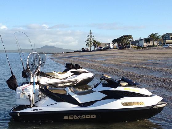 Jetski Fishing, fishing rack | Jet Ski Fishing Rack | Ultimate Rod Holder | Jet ski fishing ...