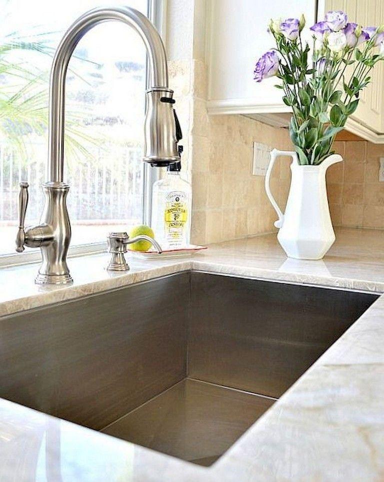 68+ Top Modern Farmhouse Kitchen Sink Ideas Modern