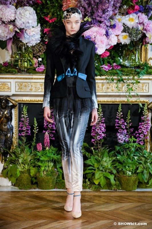 Alexis Mabille at HAUTE COUTURE FALL-WINTER/2014