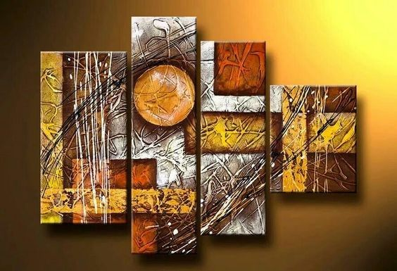 Living Room Wall Art Extra Large Painting Abstract Modern Artwork