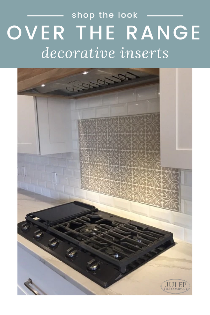 Shop The Look Over The Range Decorate Inserts As You Plan Your
