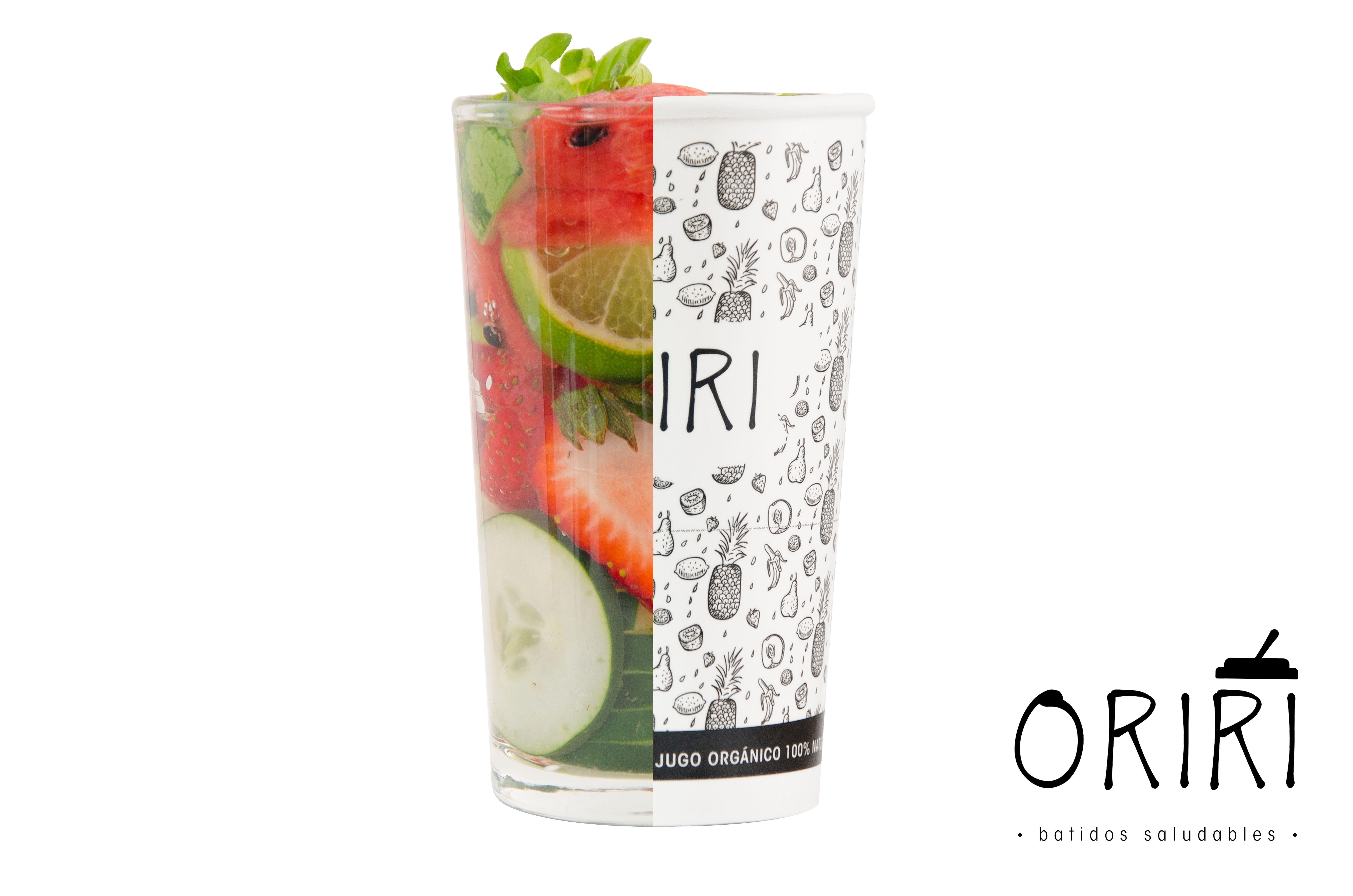Todo lo natural, fresco y saludable lo puedes encontrar dentro de un vaso. Batidos saludables. Conoce nuestras mezclas en www.oriri.co