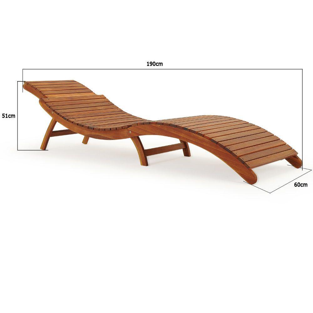 Sonnenliege Gartenliege Liegestuhl Saunaliege Gartenmöbel Holzliege Liege Ebay Tumbonas De Madera Diseño Madera Muebles Para Terrazas