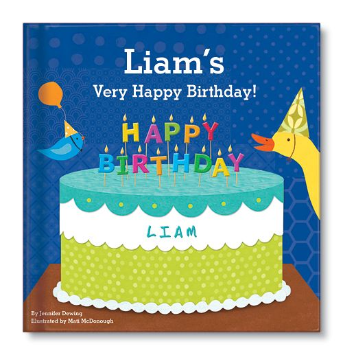 My Very Happy Birthday Book For Boys. Adorable Animals