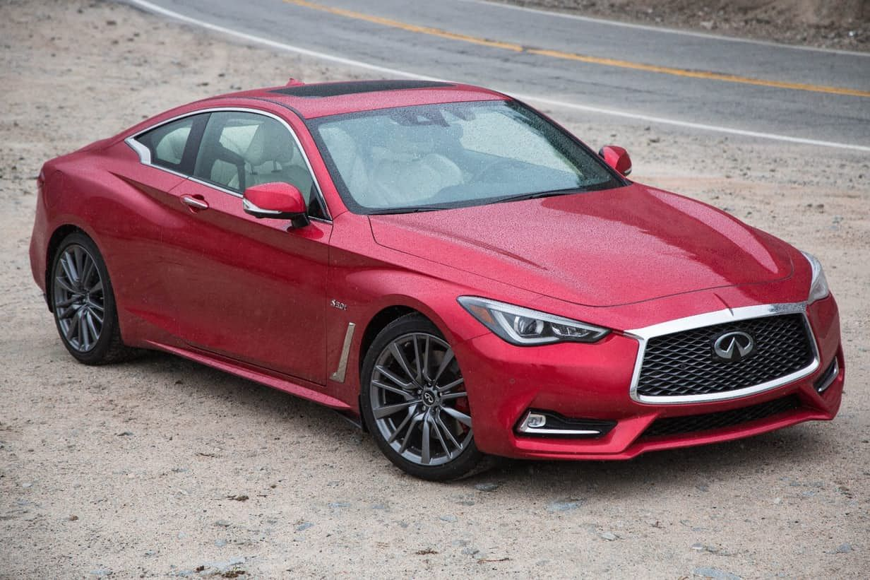 Unrealized potential The Infiniti Q60 400 Red Sport