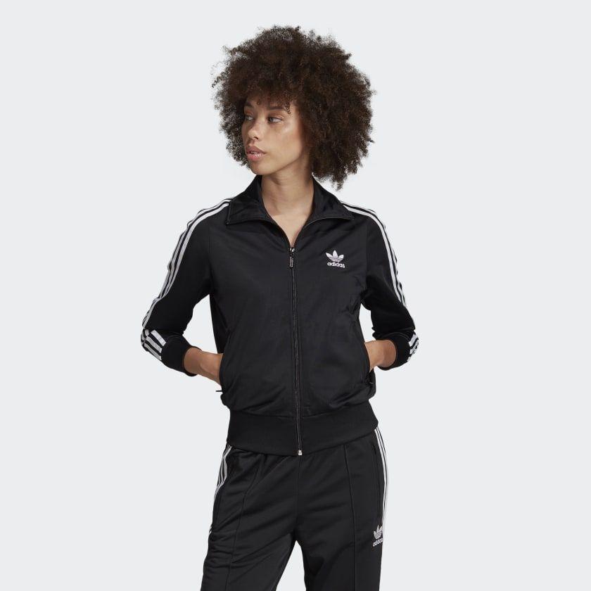 Firebird Track Jacket | Black adidas, Firebird, Adidas women