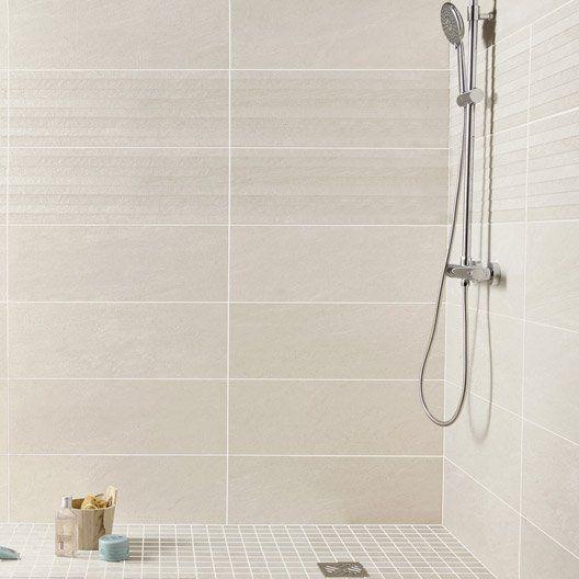 Mosaïque sol et mur Milano gris Salle de bain Pinterest
