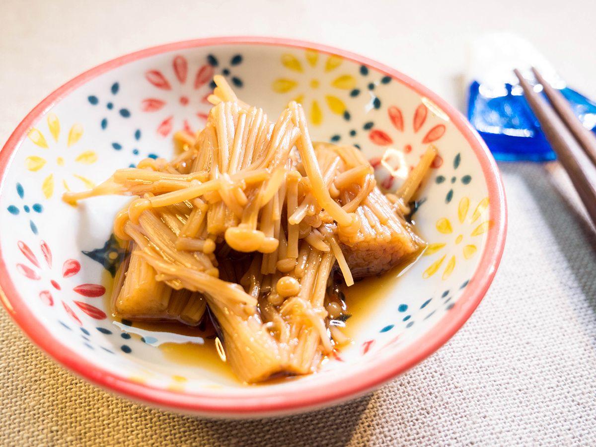 日式佃煮金針菇 家庭料理 料理 食