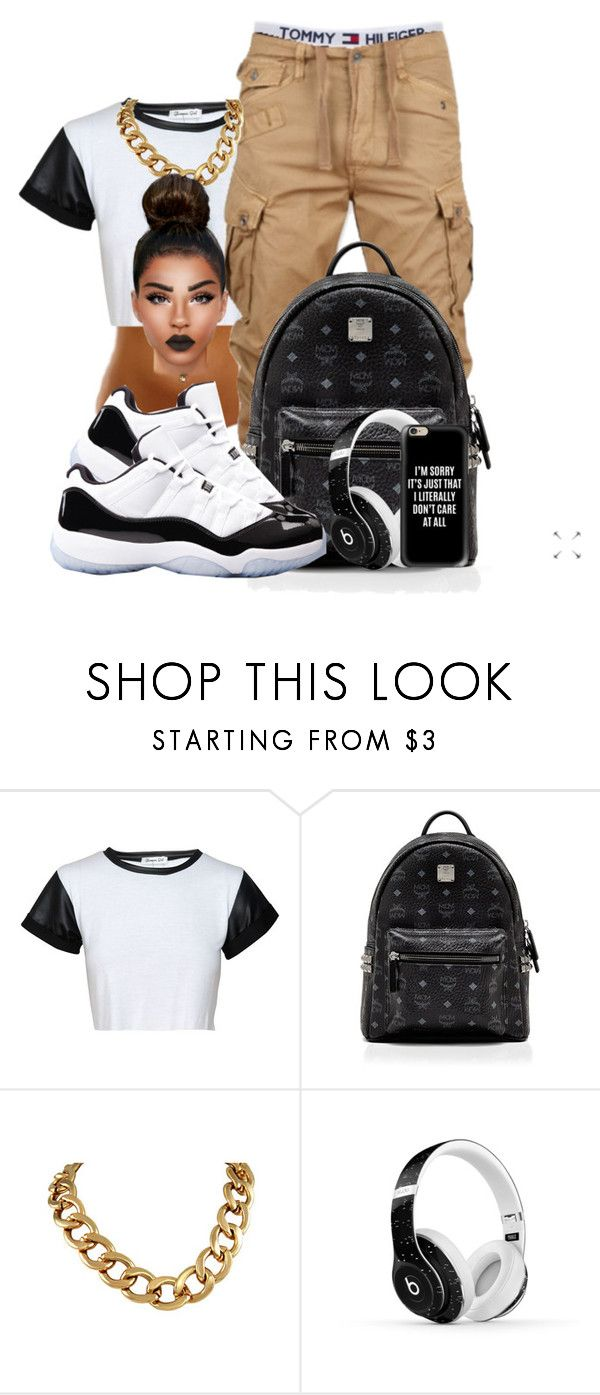 """""""$$$$$$"""" by ballislife ❤ liked on Polyvore featuring MCM, Beats by Dr. Dre and Casetify"""