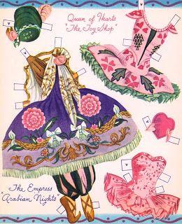 ☆Sharon's Sunlit Memories☆: Merrill Ballerina Paper Dolls