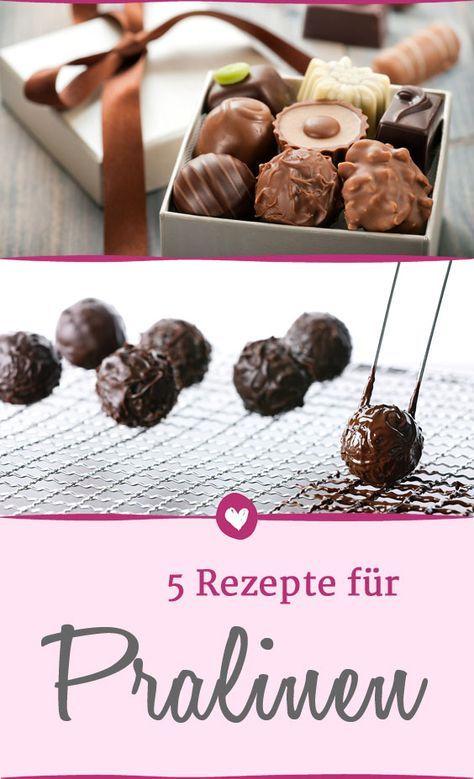 5 Pralinen-Rezepte, um Trüffel und Co. schnell selber zu machen