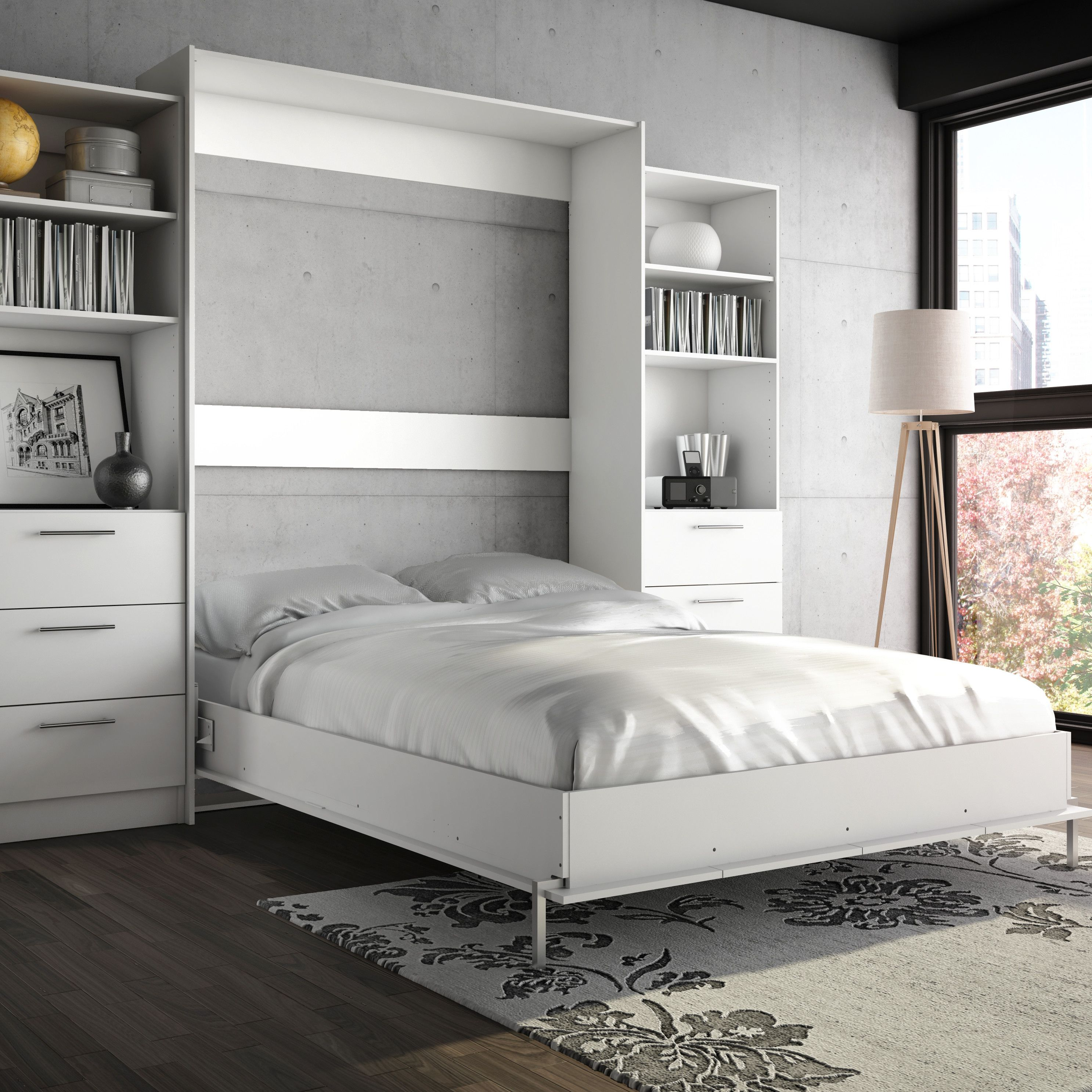 Genius Small Space Solutions 10 Modern Murphy Beds