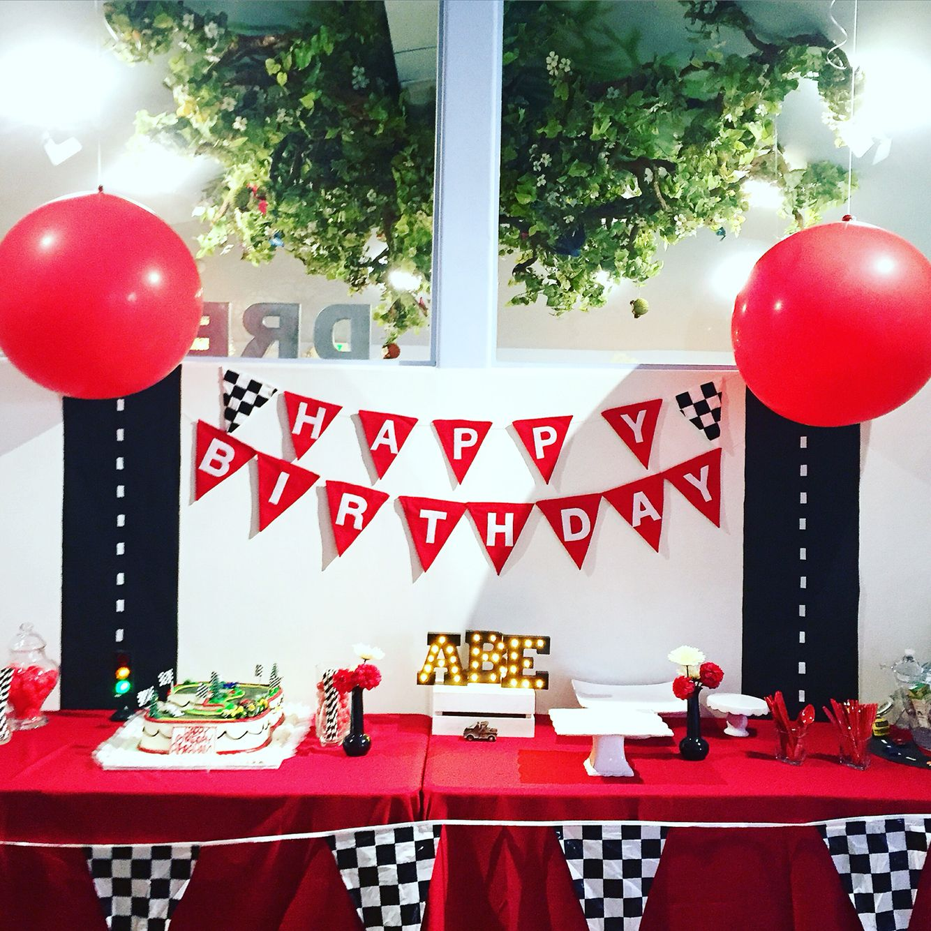 Cars Theme Decor By Snooknuk Trucks Birthday Party Disney Car Themed