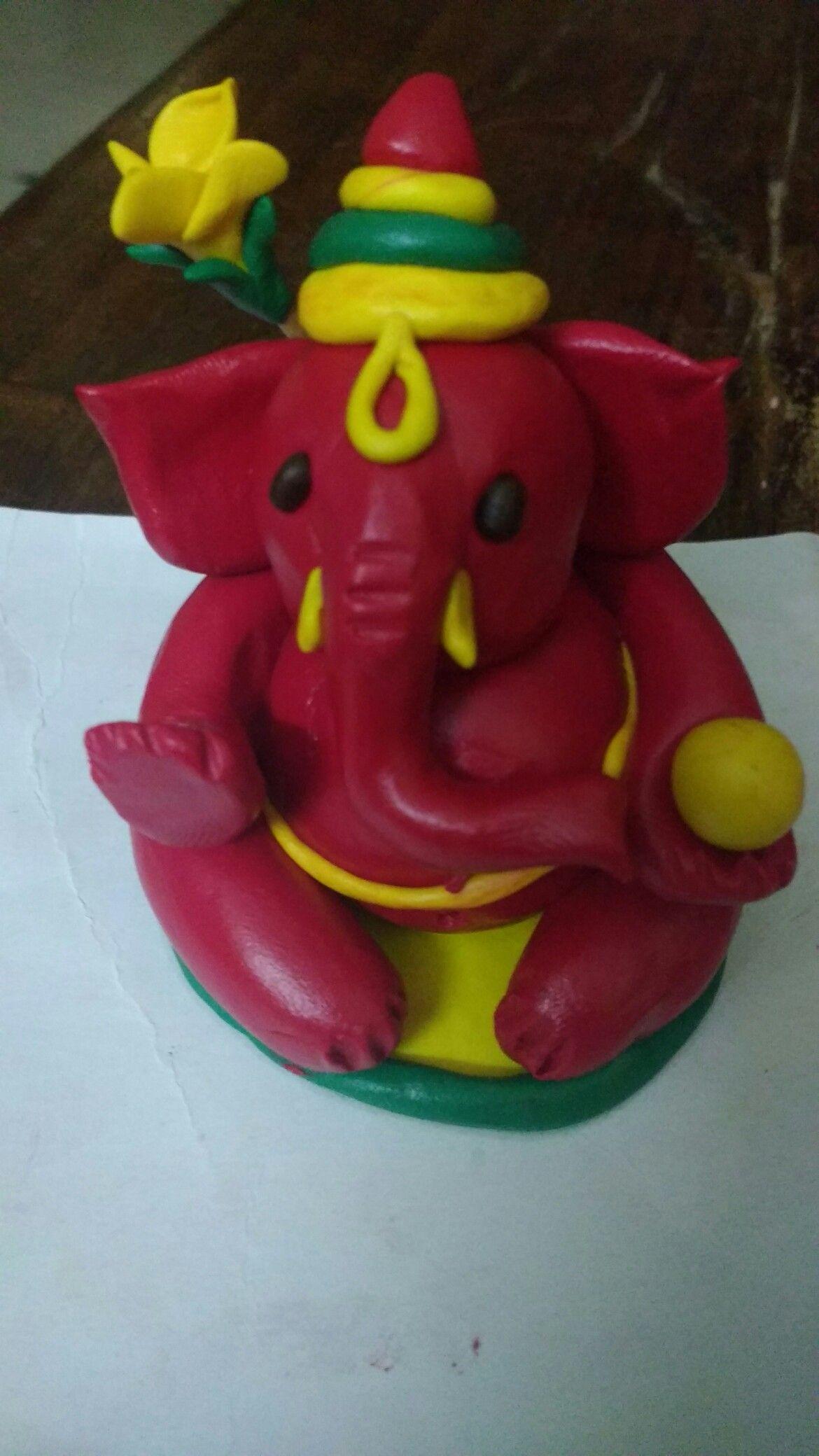 clay ganesh idol clay ganesh idol | projects to try | pinterest