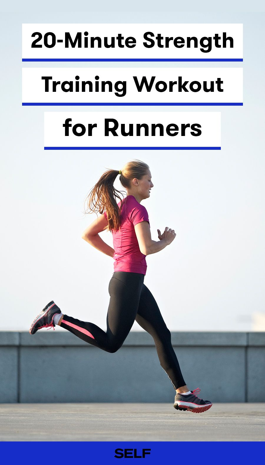 20-Minute Strength Training Workout for Runners Strength training for beginners Strength