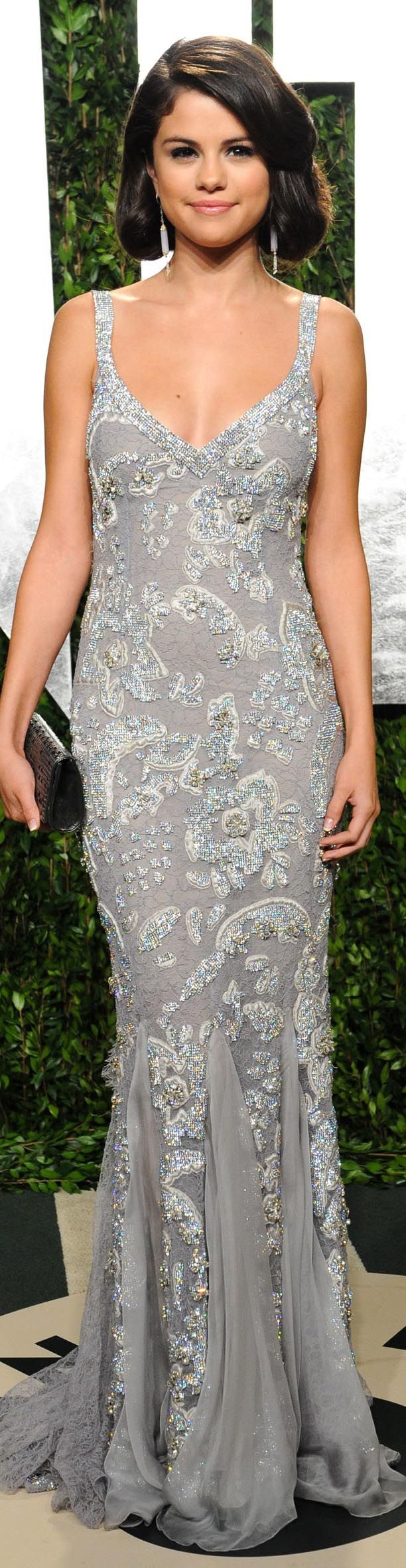 Selena gomez love this dress but not a fan of the hair in this