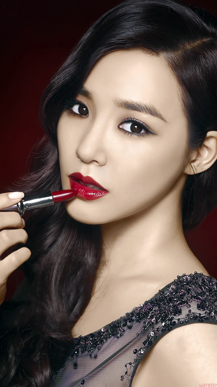 nice classy evening makeup look … kbeauty Red l…