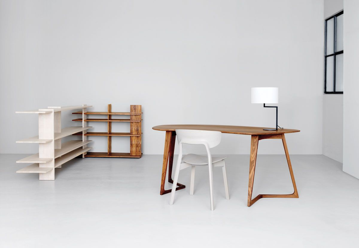 From hot-rolled steel modular desks and polyester felt panels to aluminum attachable systems, here are 25 recent products in the ...