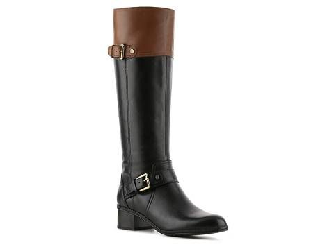 Bandolino Coppa Wide Calf Riding Boot | DSW
