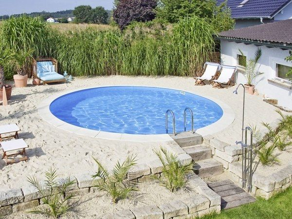 Small Inground Pools Design Ideas Small Patio Landscape Ideas