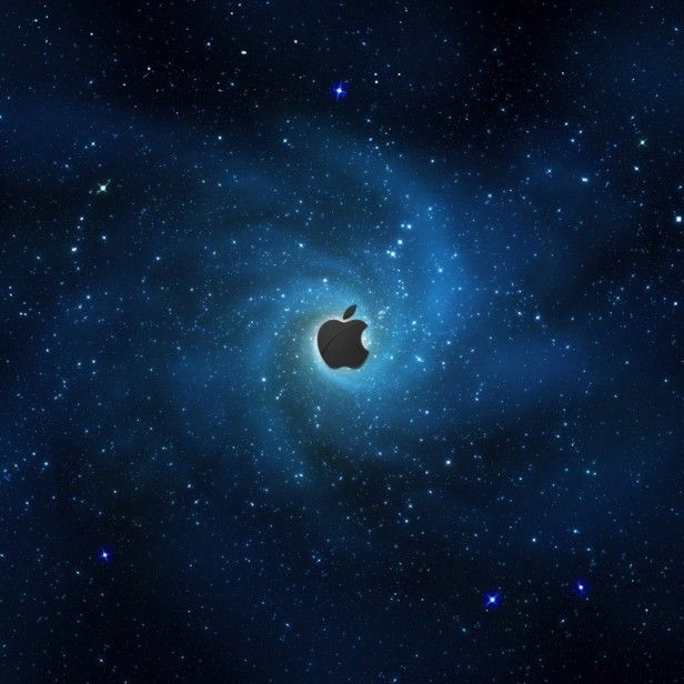 Apple Galaxy IPad Wallpaper