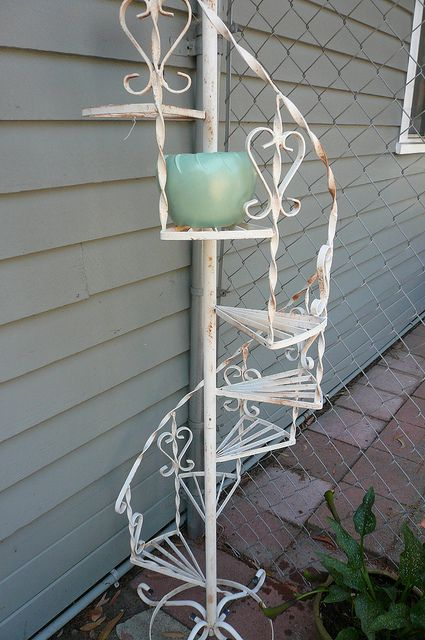 Vintage Plant Stand Wrought Iron Plant Stands Plant Stand