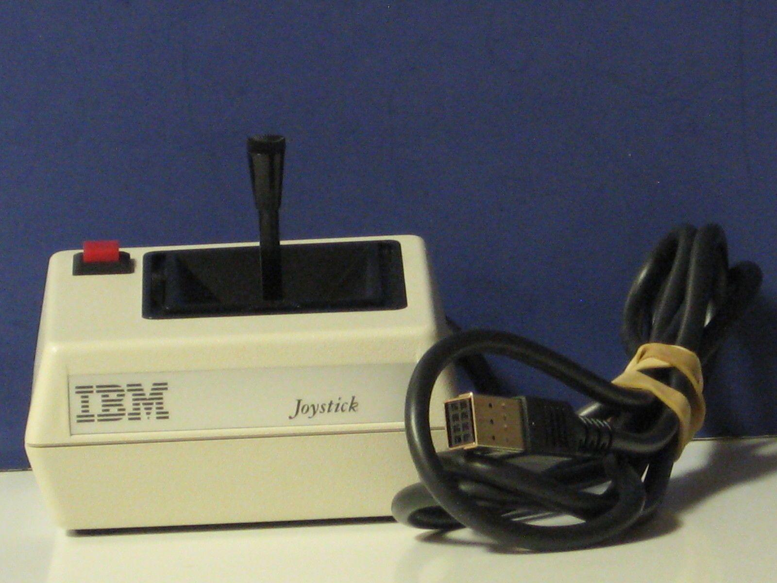 Vintage Ibm Pc Jr Joystick With Images Joystick Vintage