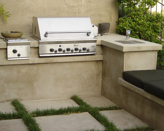 Outdoor bbq area design pictures remodel decor and for Outside barbecue area design